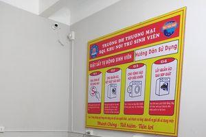 Trường Đại học sắm máy giặt phục vụ sinh viên ở KTX