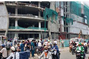 Ba người rơi từ công trình trung tâm thương mại ở Sài Gòn