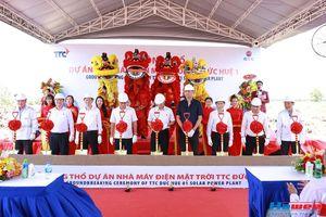 Hawee IDC làm Tổng thầu EPC xây dựng nhà máy điện mặt trời đầu tiên tại Long An