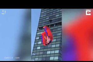 Cái kết đau đớn của thanh niên nhảy dù từ nóc tòa nhà 19 tầng