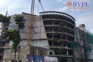 Rơi tầng cao công trình xây dựng trung tâm thương mại Khang Gia Land xuống đất, 3 công nhân nguy kịch