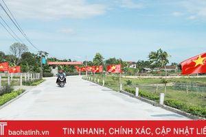 Hà Tĩnh công nhận 7 xã đạt chuẩn nông thôn mới đợt 1 - 2018