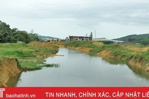 Hà Tĩnh chi 42 tỷ đồng nắn dòng Hói Trươi, chống ngập lụt ở Vũ Quang