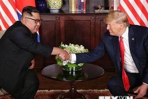 Ông Trump muốn sớm tiến hành cuộc gặp thượng đỉnh Mỹ-Triều lần 2