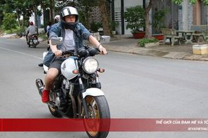 Võ sĩ Victor Georgsen 'cực ngầu' bên mô tô Honda CB400