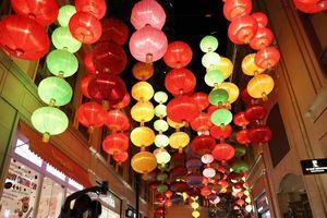 Trung thu rực rỡ đèn lồng ở Hong Kong, Trung Quốc