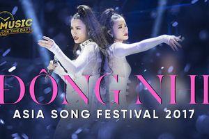 Đúng 365 ngày trước, Đông Nhi làm rạng danh Việt Nam tại Asia Song Festival