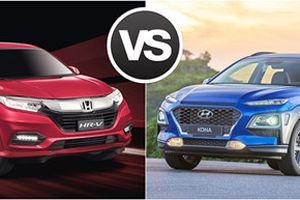 Honda HR-V đối đầu Hyundai Kona: Crossover Nhật - Hàn phân tranh