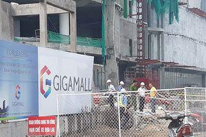 Ba công nhân rơi từ công trình đang thi công ở Sài Gòn