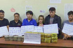 Hà Tĩnh: Bắt quả tang nhóm người ngoại quốc vận chuyển 20 bánh heroin trên ôtô bán tải