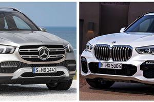 Mercedes-Benz GLE 2019 và BMW X5 2019: Kẻ 8 lạng, người nửa cân