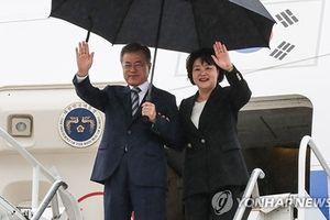 Tổng thống Hàn Quốc Moon gặp Thượng đỉnh với Tổng thống Mỹ Trump 24/9