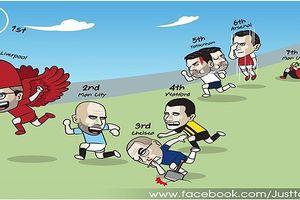Biếm họa 24h: Mourinho chán việc ở MU, không thèm đua Premier League?