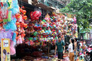 Thị trường ngày rằm Trung thu: Sức mua èo uột