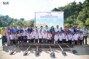 Báo điện tử VOV và Hyundai Thành Công khởi công điểm trường ở Nghệ An