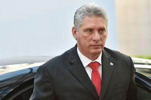 Tân Chủ tịch Cuba lần đầu tiên tới Mỹ kể từ khi nhậm chức