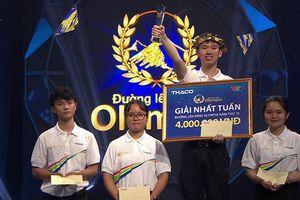 Giành tới 410 điểm thi tuần, thí sinh Hà Nội được kỳ vọng 'làm nên chuyện' tại Olympia 19
