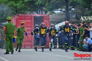 Lần đầu tổ chức Hội thi thể thao nghiệp vụ cứu nạn, cứu hộ của lực lượng Phòng cháy chữa cháy