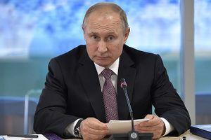 Tổng thống Nga Putin nói về việc chuyển tên lửa S-300 cho Syria