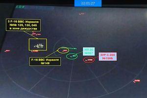 Nga: Dữ liệu S-400 ghi cho thấy F-16 Israel trốn sau Il-20 Nga