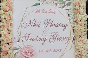 Gia đình Trường Giang mang sính lễ lên Sài Gòn đón cô dâu Nhã Phương