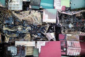 Khu nhà trọ bị cháy gần viện Nhi là điểm nóng về PCCC