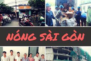 Nóng Sài Gòn: Đình chỉ dự án khiến 3 công nhân rơi từ tầng bốn xuống đất