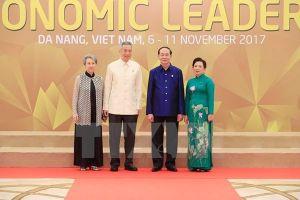 Lãnh đạo Singapore gửi lời chia buồn tới Phu nhân Chủ tịch Nước Trần Đại Quang
