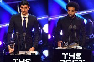 Đội hình tiêu biểu năm 2018 của FIFA: Sự bất công mang tên Salah và Courtois