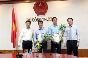 Bổ nhiệm Phó Chánh Văn phòng và Phó Cục trưởng Cục Xúc tiến thương mại Bộ Công thương