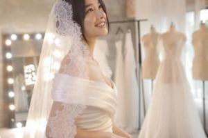 Ngắm Nhã Phương đẹp xuất sắc đi thử váy cưới cho ngày trọng đại