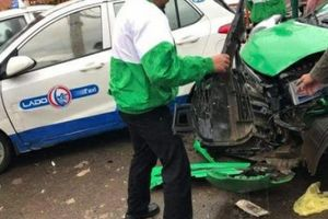 Thanh niên phê ma túy điều khiển ô tô gây tai nạn liên hoàn