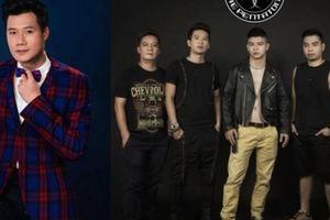 Quang Dũng lần đầu chung sân khấu cùng nhóm rock Ngũ Cung
