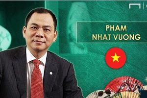 Tỷ phú Phạm Nhật Vượng lọt top 'ông bầu' châu Á giàu nhất
