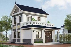 10 mẫu biệt thự 2 tầng mái thái đẹp long lanh