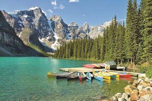 Đắm mình cùng thiên nhiên ở Banff