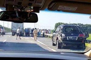 Vụ tài xế Lexus bị tông tử vong: CSGT được dừng phương tiện tại vị trí nào trên cao tốc?