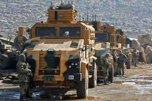 Đoàn xe quân sự của Thổ Nhĩ Kỳ ồ ạt tiến vào Idlib, Syria