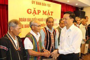 Gặp mặt đoàn đại biểu người có uy tín trong đồng bào dân tộc thiểu số tỉnh Phú Yên