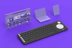 Logitech giới thiệu bàn phím chuyên dành cho smart TV