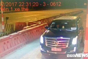 Đề nghị Bộ Công an xử lý ôtô dùng biển 'xe hộ đê' giả
