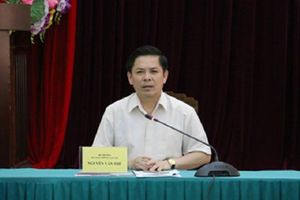 Bộ trưởng Giao thông làm việc với tỉnh Cà Mau