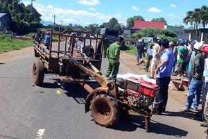 Tránh xe công nông, người đàn ông bị xe tải tông tử vong