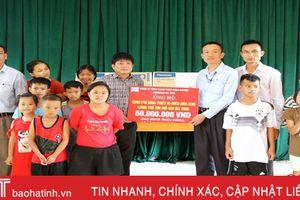 Formosa Hà Tĩnh hỗ trợ gần 3,7 tỷ đồng hoạt động an sinh xã hội