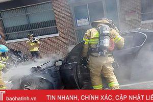 Xe BMW liên tục tự phát hỏa ở Hàn Quốc
