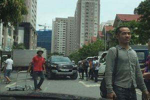 Cư dân Hapulico bức xúc về bến xe trong chung cư
