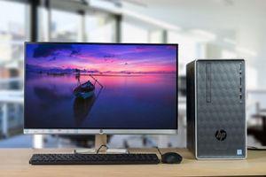 PC HP Pavilion 590 - cấu hình mạnh, thiết kế nhỏ gọn cho dân văn phòng
