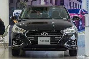 Hyundai Accent 2018 cạnh tranh mạnh mẽ với Toyota Vios