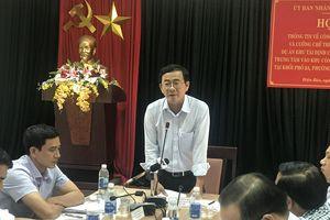 Sắp cưỡng chế thu hồi đất của hộ bà Phạm Thị Thưu ở phường Điện Nam Bắc