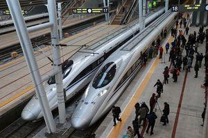 Đường sắt tốc độ cao Trung Quốc 'vượt mặt' hàng không